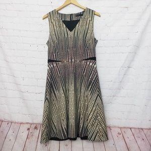 Karen Millen fit and flare dress